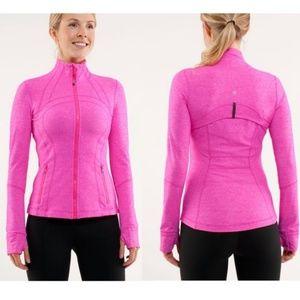 LIKE NEW! RARE Lululemon Define Jacket Hot Pink